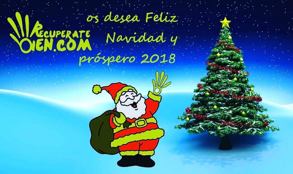 Desde el equipo de Recuperatebien os deseamos Feliz Navidad y próspero año nuevo!!